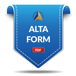Download PDF ALTA Form